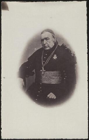 603952 - Monseigneur Joannes Zwijsen (1793-1877). Hij stichtte als pastoor van Tilburg de congregaties der Fraters en Zusters van Liefde. Later werd hij benoemd tot bisschop van Den Bosch en werd de eerste nieuwe aartsbisschop van Utrecht.