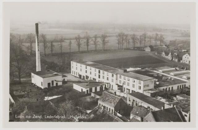 078659 - Arbeidershuisjes vermoedelijk behorend bij lederfabriek 'Hollandia ' te  Loon op Zand.