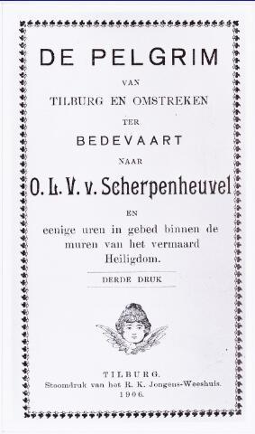 008724 - Bedevaart Scherpenheuvel afifiche uit 1906.
