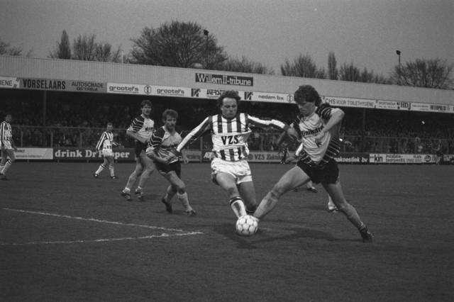 TLB023002609_004 - Willem II. Frank van Straaten (rechts), Bud Brokken (midden), John Feskens (links).