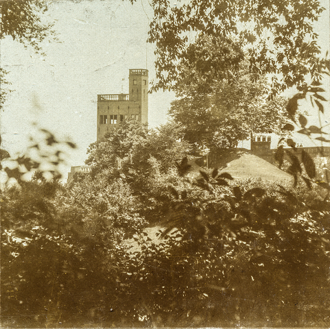 653575 - Uitzicht op Belvedere. (Origineel is een stereofoto.)