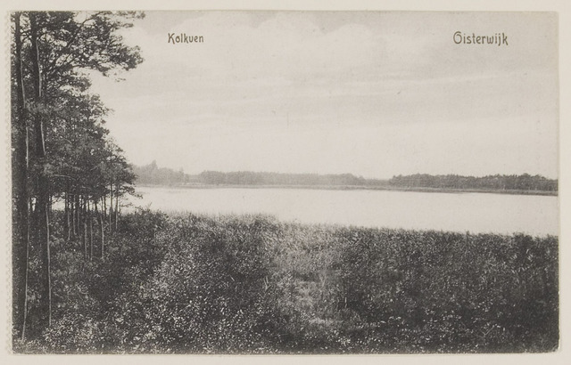 075229 - Serie ansichten over de Oisterwijkse Vennen.  Ven: Kolkven