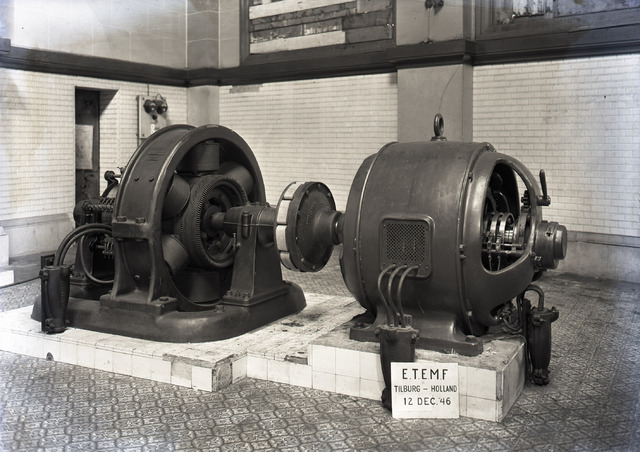 654610 - Industrie. Firma Hooijen. ETEMF(Electrotechnische en mechanische fabriek.