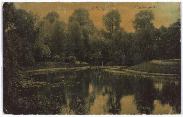 002926 - Wilhelminapark, vijver.