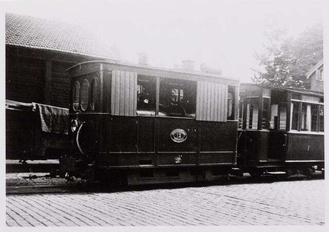 041486 - Openbaar vervoer. Hollandse Buurtspoorwegen. Zuider Spoorweg Mij. loc. 12, Tilburg, 1934.