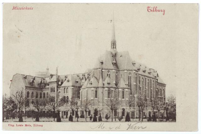 000157 - Missiehuis Bredaseweg vanaf de tuinzijde.