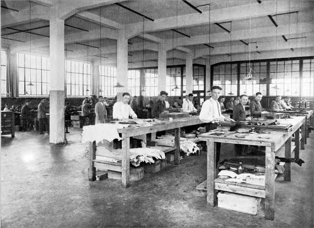 054563 - Snijderij stoomschoenfabriek Ligtenberg te Dongen.