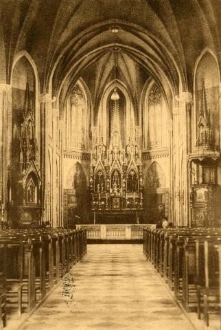 600280 - Interieur r.k. kerk te Ulicoten (gemeente Baarle-Nassau)