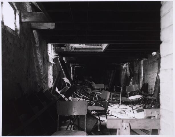 023191 - Duvelhok. Werkcentrum voor beeldende expressie. Interieur vóór de restauratie