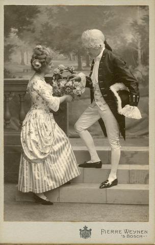 601669 - Iet Verheyen. Casinobal 1905/1906