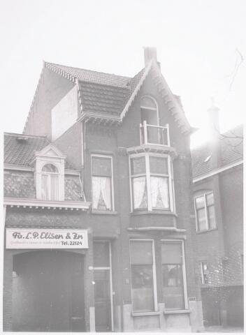 032293 - Voorgevel van het pand aan de Paleisstraat 12, thans Stadhuisplein
