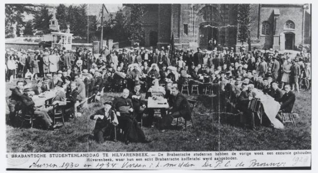 055725 - Brabantse Studentenlanddag, Hilvarenbeek