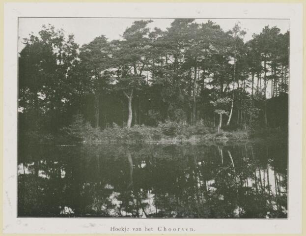 075399 - Serie ansichten over de Oisterwijkse Vennen.  Ven: Choorven