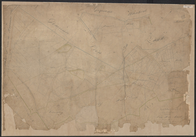 652572 - Kadasterkaart Tilburg, Sectie A (Heikant), blad 1. Schaal 1:2500. z.j.
