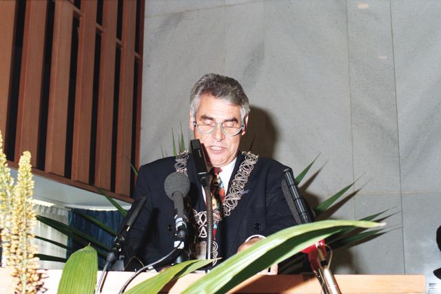 1237_010_763_027 - Installatie burgemeester Stekelenburg als burgemeester van Tilburg. .Speech.