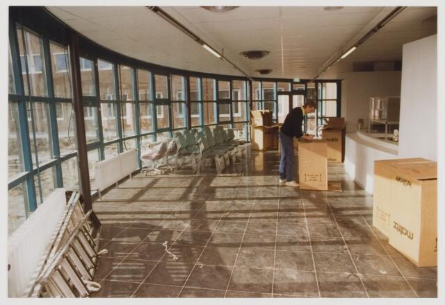 077871 - Inrichting van het nieuwe gemeentekantoor, 1989.