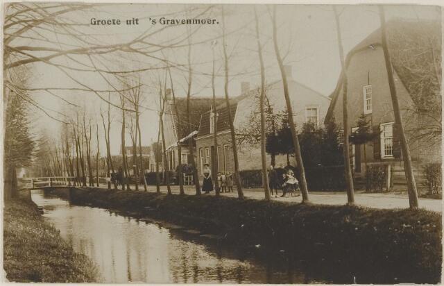 059003 - Vaartweg met pastorie van de Gereformeerde Kerk