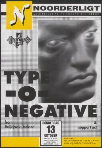 650311 - Noorderligt. Typ-o-negative. Support act: Tiamat