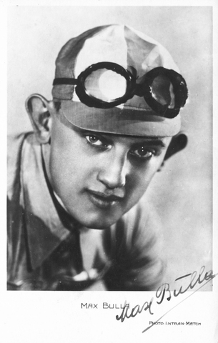 652836 - Wielrennen. Max Bulla. Kaart van Max Bulla aan Piet van Ierlant. 'Zur Erinnerung an meinem Start zur Tour de France 1932'.