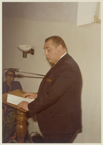 89088 - Toespraak bij de installatie van de nieuwe burgemeester van Terheijden: dhr. J. van Maasakkers