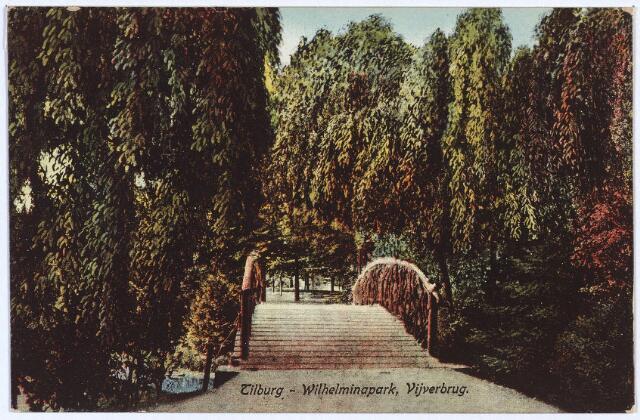 002958 - Wilhelminapark, bruggetje.