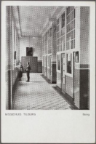 011110 - gang in het missiehuis van de paters missionarissen van het H. Hart aan de Bredaseweg