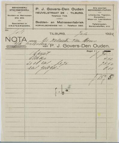 060192 - Briefhoofd. Nota van P.J. Govers-Den Ouden v/h J. Smarius-Eijsbouts, Heuvelstraat 28 voor het Armbestuur