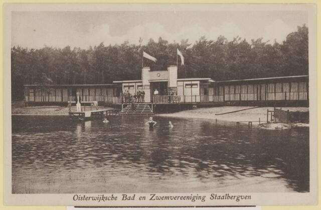 075261 - Serie ansichten over de Oisterwijkse Vennen.  Ven: Staalbergven.