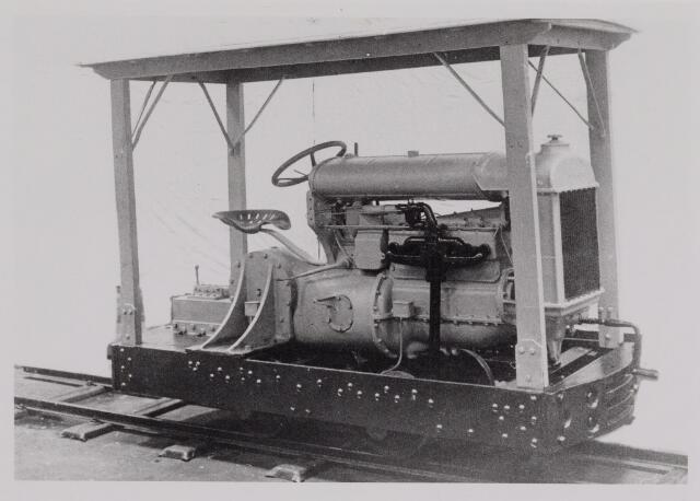 """040425 - Werd deze """"locomotief"""" gebruikt voor het rangeren?"""