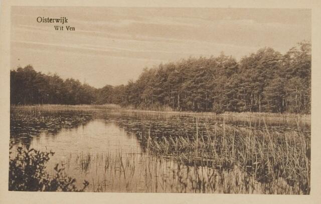 075315 - Serie ansichten over de Oisterwijkse Vennen.  Ven: Witven.