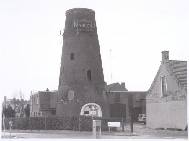 016585 - Restant van de molen van de meelfabriek Schraven - Eijsbouts.