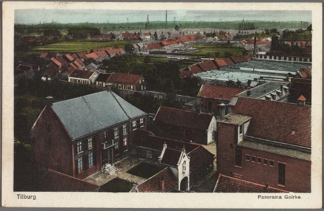 010256 - wijk het Goirke met links de voormalige pastorie van de parochie Goirke.