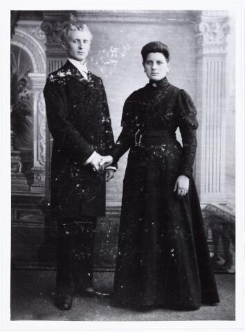 006885 - Johannes Cornelius Druijts (1880-1967) Trouwt te Tilburg in 1907 met Maria Cornelia de Langen (1879-1858.