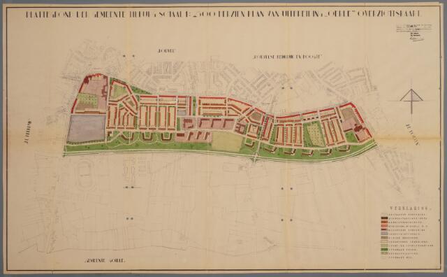 059435 - Kaart. Stadsuitbreiding. Bestemmingsplan. Oerle, 1952