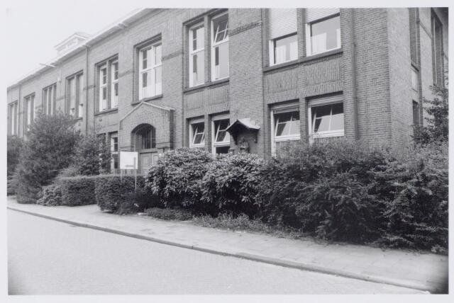 044953 - Gemeentelijke gasfabriek aan de Lange Nieuwstraat.