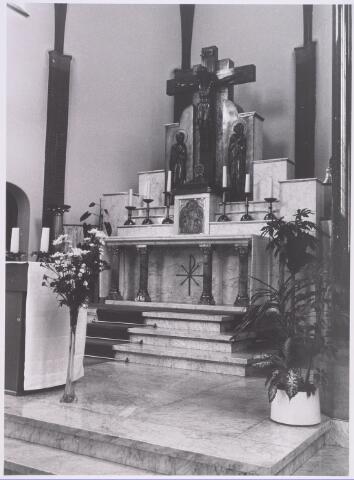 018052 - Altaar in de kapel van het Ursulinenklooster aan de Elzenstraat