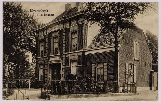 084397 - Villa Jachtlust aan de Paardenstraat in de19e eeuw gebouwd voor Hector Majoie, die in 1892 met zijn vrouw naar Brussel verhuisde en daar op 24 september 1903 overleed.