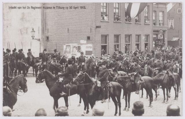 053558 - Intocht van tweede regiment Huzaren