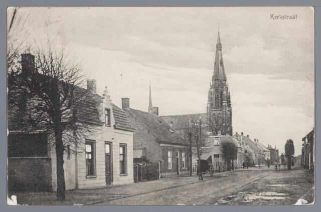 057803 - Rijen. Kerkstraat omstreeks 1917.