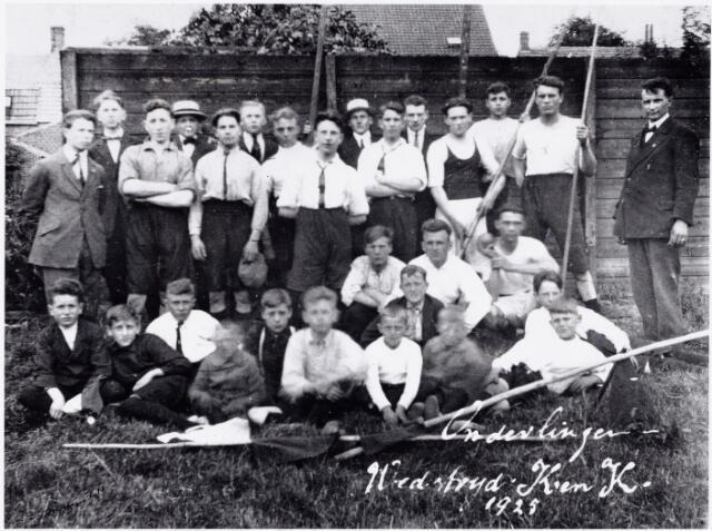 052781 - Sport. Gymnastiek. Kunst en Kracht. Onderlinge wedstrijd Kunst en Kracht 1925