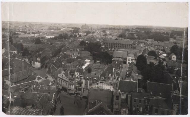 036352 - Panorama van Tilburg vanaf de toren van de Heikense kerk