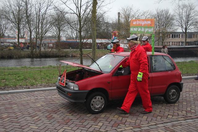 658128 - Carnaval. Optocht. Kruikenstad. D'n Opstoet door het centrum van Tilburg in februari 2017.
