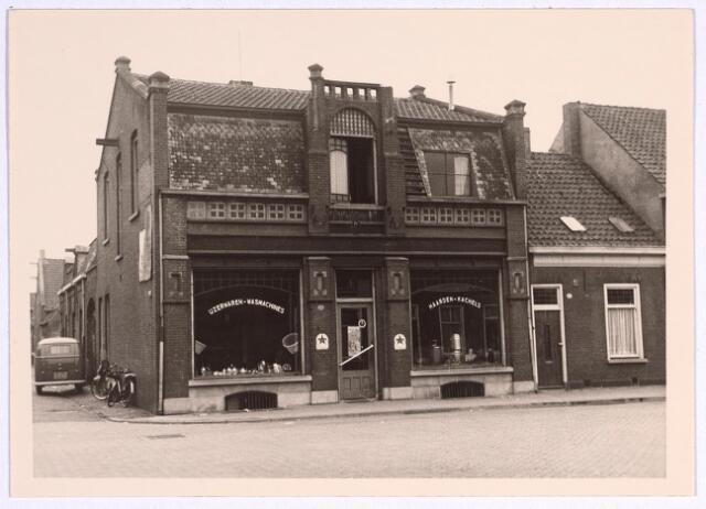 025079 - IJzerwarenhandel Ooms - Barben op de hoek Lange Nieuwstraat - Besterdring in 1969