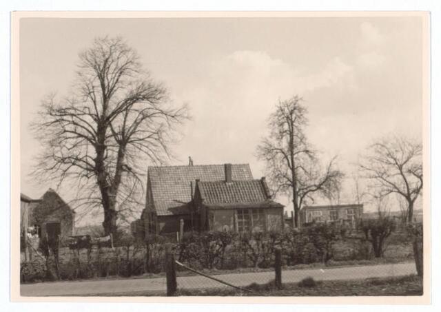 026686 - Pand Stokhasseltkerkstraat 2 in april 1963. Thans is hier de Mozartlaan