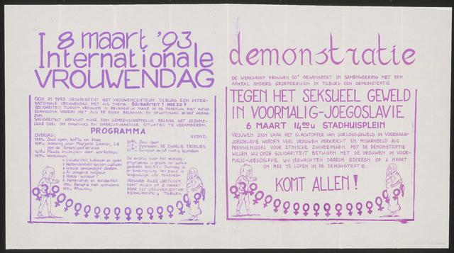 """668_1993_internationale vrouwendag - 8 maart internationale vrouwendag""""("""