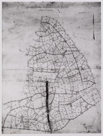 042252 - Riolering. Schetsplan van het rioolstelsel in het stroomgebied van de Leij anno 1918