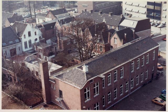 036660 - Panorama van Tilburg vanaf de flat aan de Spoorlaan 392
