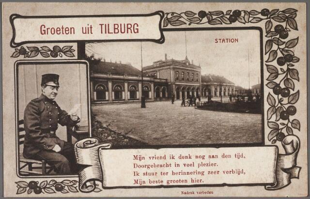 010675 - Station aan de Spoorlaan.