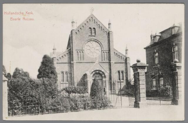 065552 - Rooms Katholieke Kerk van Onze Lieve Vrouw van Altijddurende Bijstand; later werd deze kerk verbouwd met als architect Jac. van Groenendael