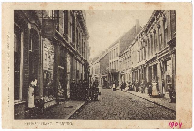 001069 - Heuvelstraat  tussen Heuvel en Willem II-straat.
